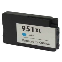 HP CN046AN Remanufactured Cyan Inkjet Cartridge